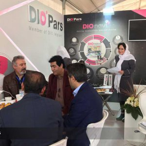 """Diopars booth at the """"18th International Congress of Iran's Periodontology Association"""" held at kaya hotel, was remarkably welcomed by dentists"""